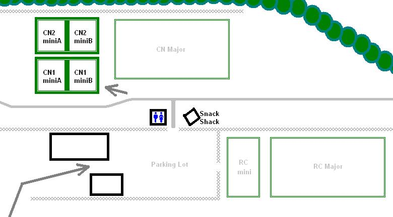 U5/U6 Mini Soccer Field Map